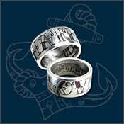 Alchemy Gothic UL13 Love/Hate Ring