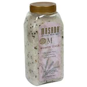 Masada Mineral Herb Spa 100% Natural Dead Sea Mineral Salts, Women
