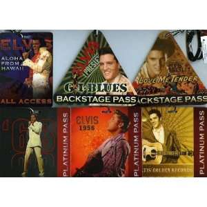 Presley CP Set of 12 Backstage Pass,VIP,Platinum