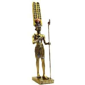 Bronze Anum Egyptian Statue Ancient Egypt Home & Kitchen