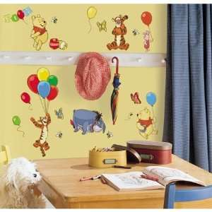 Winnie the Pooh   Pooh & Friends Peel & Stick Wall Decal