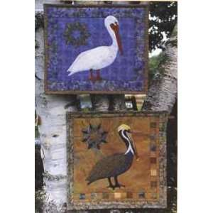 PT1631 Pelicans Applique Quilt Pattern by Pine Meadows