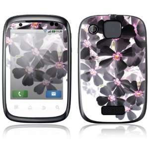 Asian Flower Paint Design Protective Skin Decal Sticker