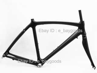 Brand NEW Full Carbon 3K Road Bicycle Bike Frame 56cm , Fork ,Alloy
