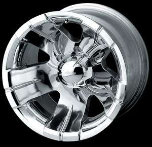 CPP ION Alloys style 138 Wheels Rims 15x8, 5x4.75, polished aluminum