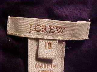 CREW Classy Dk Navy Blue Silk Cotton Dress ~ 8 / 10