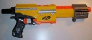 NERF N STRIKE ALPHA TROOPER BLASTER ONLY