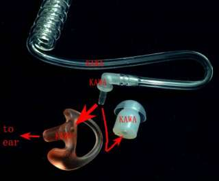 To use this ear lobe,simply remove the nipple from your coil tube and