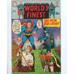 Die Later (Worlds Finest, Aug. No. 195) Bob Haney, Curt Swan Books