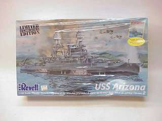 REVELL MODEL KIT~USS ARIZONA 1426 LIMITED ED SEALED
