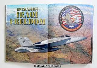 USS GEORGE WASHINGTON CVN 73 IRAQI CRUISE BOOK 2004