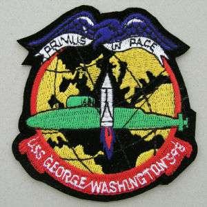 USN USS GEORGE WASHINGTON SSBN598 SUBMARINE PATCH #01
