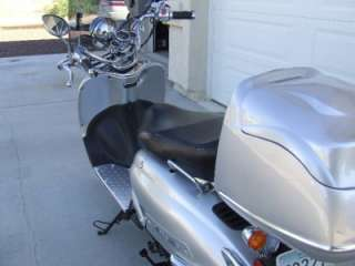 2009 Fly Scooter IL BELLO 50cc Engine ONLY 53.6 Miles