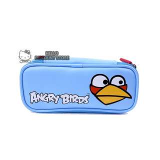 Angry Birds Pencil Cosmetic Case / Pouch  Blue