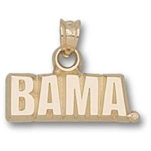 University of Alabama Bama Pendant (Gold Plated)