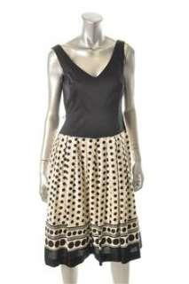 Anne Klein New York Printed Versatile Dress Polka Dot Sale 6