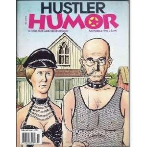 HUSTLER HUMOR 11 95 (NOVEMBER 1995): HUSTLER MAGAZINE: Books
