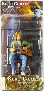 KURT COBAIN NIRVANA UNPLUGGED NECA 7 ACTION FIGURE