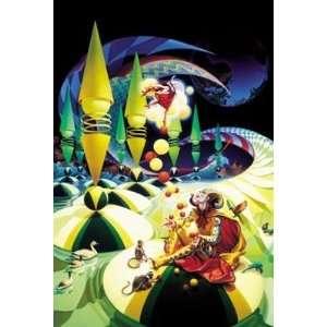 Print   Bagatelle   Artist: Ilene Meyer   Poster Size: 24 X 36 inches