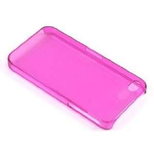 APPLE IPHONE 4S PROTECTOR CASE ULTRA THIN TRANSPARENT PINK