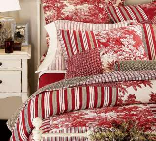 Pottery Barn Pick Stitch Quilt And Shams King Cal King