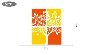 TREE Wall sticker/window vinyl Decor/Decorative wall sticker
