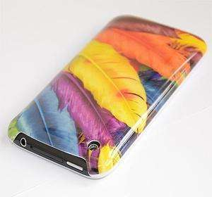 Feather Hard Case Cover for Apple iphone 3G 3Gs +Screen Protector