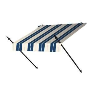 Ft. Designer Window Awning Central Park Striped Patio, Lawn & Garden