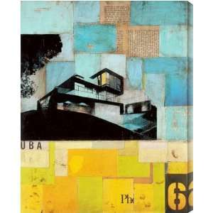 Sustainable Living III AZMD139A canvas artwork: Home