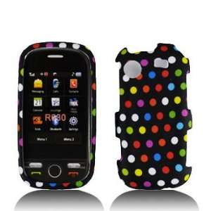 Samsung Messager Touch R630 Premium Design Rainbow Dots Hard Protector