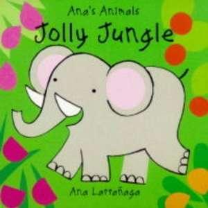 Animals Jolly Jungle Board Book (9781855762800): Ana Larranaga: Books