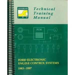 Ford Electronic Engine Control Systems, 1983 1997 Inc. Jendham Books