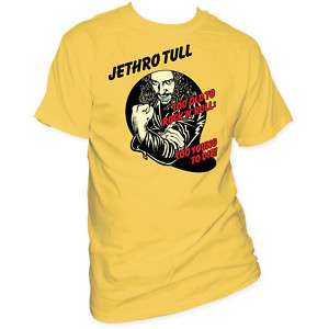 Jethro Tull Too Old To Rock N Roll Young Die T shirt