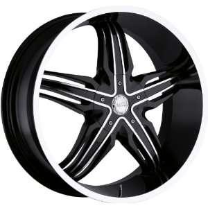 Phoenix 5x150 +30mm Black Machined Wheels Rims Inch 24 Automotive