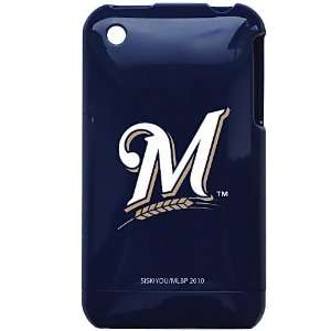 Milwaukee Brewers MLB for Apple iPhone 3G 3GS Faceplate