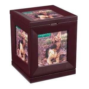 Peaceful Pet Dog/Cat Revolving Memorial Box 7x5x5.5