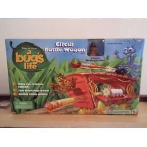 A Bugs Life   Circus Battle Wagon Toys & Games