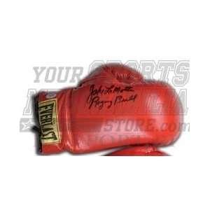Jake Lamotta Raging Bull signed boxing glove PSA/DNA