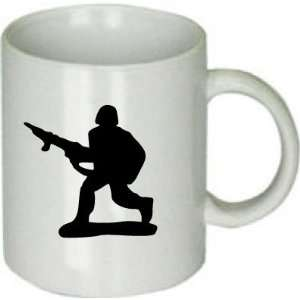 Army Man Toy Soldier Silhouette Mug