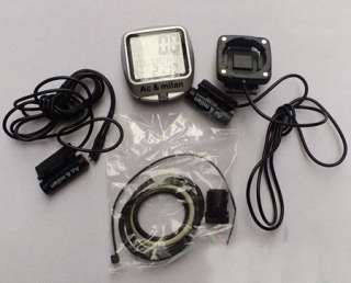 New Waterproof Bicycle Bike Computer Odometer Speedometer Backlight