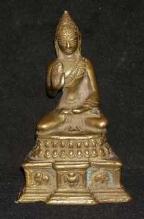 Traditional Indian Hindu Ritual Bronze Statue Of Buddha Good