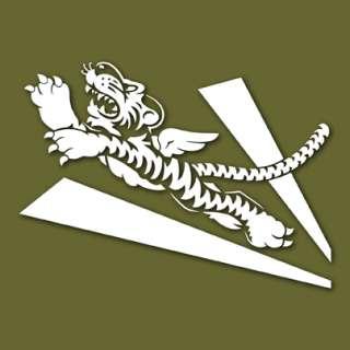 Flying Tigers AVG Logo Disney WW2 Decal Sticker VLFEIHU