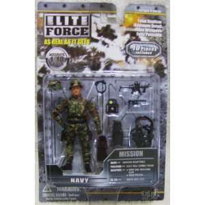 Blue Box Elite Force Mission Series Navy Seal Combat Diver