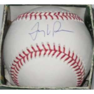Tony LaRussa Signed Ball   St Louis Cardinals Official Ml