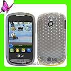 LG 900G Net 10 Tracfone TPU Gel Case Cover Purple