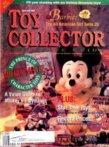 Toy Collector 12/94 Star Trek/Mickey Mouse/Barbie+