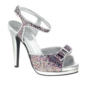 PIPER Touch Ups in PINK MULTI Bridal Bridesmaid Prom Pageant Shoes