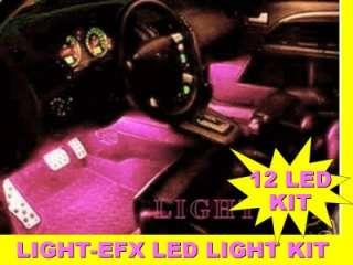 PINK LED INTERIOR LIGHTS SUBARU ...