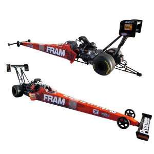 2011 Spencer Massey Fram Nhra 1:24 Diecast Top Fuel Dragster Round 2