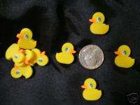 Rubber Ducky Duck Erasers Baby Shower Party Favors